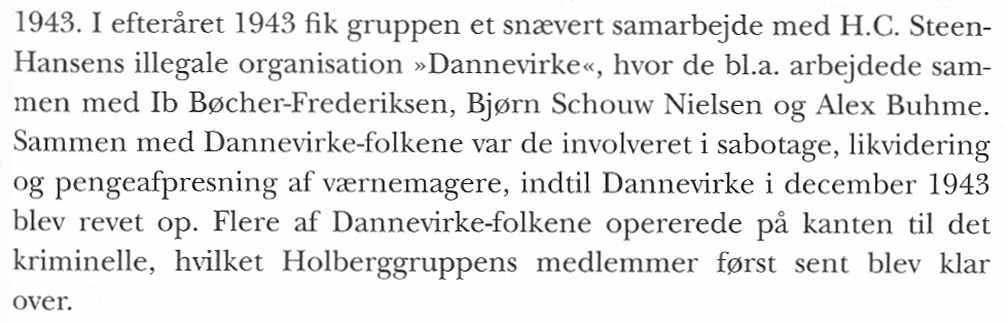 Holger Danske Gruppen i Bogen Holger Danske