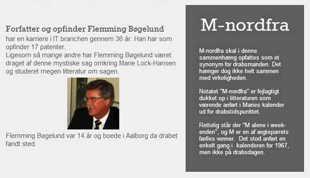 Lock-Hansen-sagen, Flemming Bøgelund, Dines Bogø